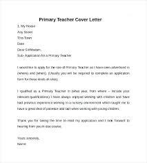 Teacher Sample Cover Letter Middle School Teacher Resume Sample