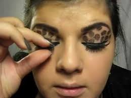 leopard eyes makeup tutorial
