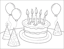 Small Picture Nice Birthday Coloring Pages Coloring Page and Coloring Book