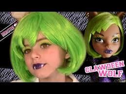 spectra vondergeist monster high doll costume makeup