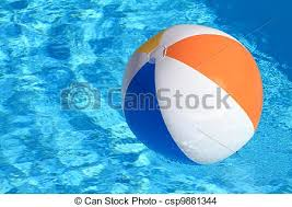 swimming pool beach ball background. Fine Swimming Summer Background Beach Ball On The Swimming Pool  Csp9881344 For Swimming Background U