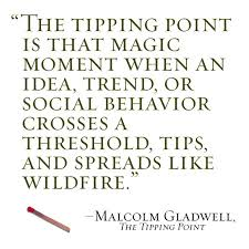 quotes about tipping point quotes