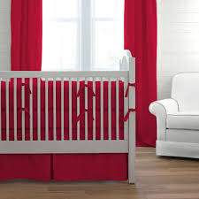 red baby bedding  solid red crib bedding collection  carousel