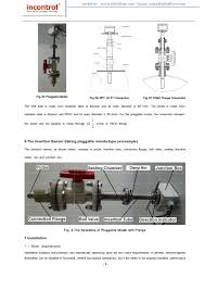 insertion type magnetic flowmeter instruction manual vmi series 6