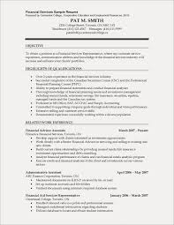 Financial Advisor Assistant Sample Resume Stunning Resume Financial Advisor Resume Objective Financial Advisor Resume