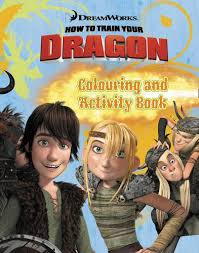How to train your dragon printables. How To Train Your Dragon Colouring And Activity Book 9780007338009 Amazon Com Books