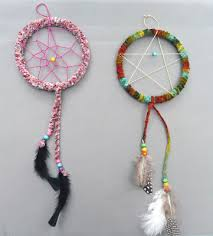 Materials To Make Dream Catchers Cool That Artist Woman How To Make A Dreamcatcher