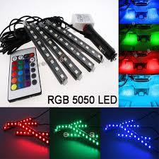 <b>LED Car</b> Interior Kit Glow Under Dash <b>Foot</b> Well Seats Inside <b>Light</b> ...