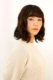 冬おススメの髪型2017最新髪型 田渕麻由子