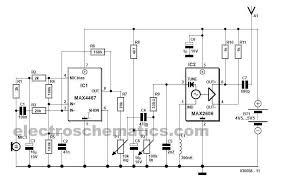 wireless fm microphone circuit fm wireless microphone circuit diagram