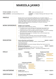 Product Consultant Resumes Resume Examples By Real People Weight Loss Consultant