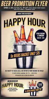 Happy Hour Flyer Hotpin Templates Beer Promotion Happy Hour Flyer Template 3