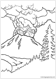 Login to add to favorites. Active Volcano Coloring Page Free Coloring Pages Online
