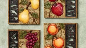 kitchen canvas wall art inspiring design fruit prints and inside remodel