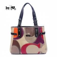 Quick View · Coach Totes Bags Big Logo Large Black Ivory Outlet Sale VIP  Shop ...