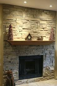 stacked stone veneer fireplace thin surround installing dry stack dry stack fireplace home decorating ideas