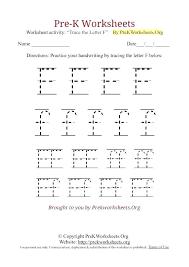 Free Pre K Printables Free K Worksheets K Tracing Worksheet F Free ...