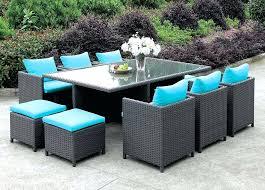 11 piece patio dining set oasis outdoor patio furniture 11 piece dining set