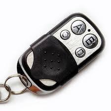 whole portable 433mhz garage door remote control presentation universal car gate cloning rolling code remote duplicator opener key fob controller remote