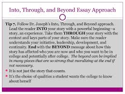 Telling Your Story  Ten Tips For Writing Powerful College Essays SlideShare