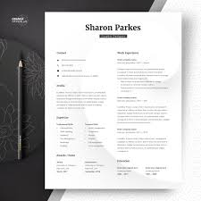 Designer Resume Template Word Lebenslauf Minimalist Resume Creative Resume Graphic Cv Template Instant Download Curriculum Vitae