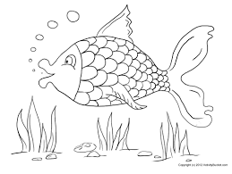 Printable Coloring Pages color pages of fish : Fish Coloring Pages Free