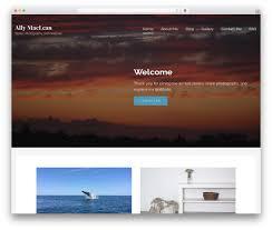 Wordpress Photo Gallery Theme Lyrical Wordpress Gallery Theme By Godaddy Allymaclean Com