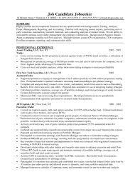 Amazing Proprietary Trader Cv Photos Entry Level Resume