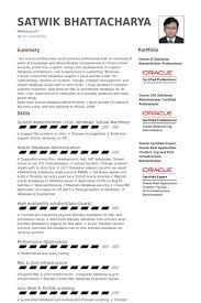 Database Administration Sample Resume 10 Database Administrator Resume  Samples