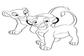 Pride Coloring Pages Simba The Lion King Coloring Pages 2 Simbas Pride And Nala Baby Are