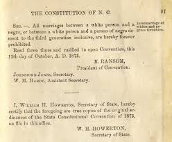 breaking last time north carolina amended their constitution on  breaking last time north carolina amended their constitution on marriage it was to ban interracial marriage divorce lawyer team