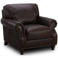 el paso coffee leather chair weekends only furniture and mattress