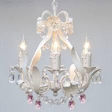 pink chandelier lighting. WHITE IRON CRYSTAL FLOWER CHANDELIER LIGHTING W/PINK HEARTS! - PERFECT FOR KID\u0027S AND GIRLS BEDROOM! Amazon.com Pink Chandelier Lighting O