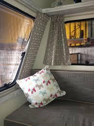 Campervan Design Curtains Curtains Now In Caravan Revamp Camper Curtains