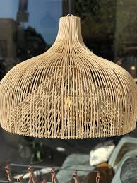 Rotan Lamp Seminyak S 55 Cm Skyler Store