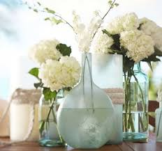 diy sea glass vases ideas
