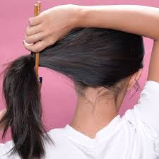 Chopstick Hairstyle 5 easy hairstyles for when youre running late beauaty hacks 5063 by wearticles.com