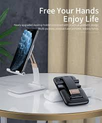 <b>Essager</b> Desk Mobile Phone <b>Holder Stand</b> For iPhone iPad Tablet ...