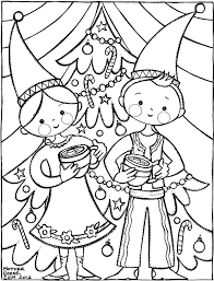 Small Picture Winter Gnome Family Coloring Pages
