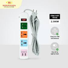 Ổ cắm điện đa năng Honjianda HJD-0544B giảm chỉ còn 130,000 đ