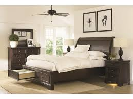 Burlington King Sleigh Bed With Under Bed Storage Drawers Morris - Burlington bedroom furniture