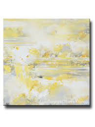 yellow grey painting art g taupe wall art canvas print old