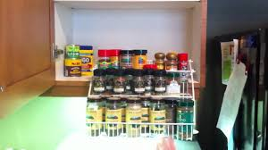 Rubbermaid Coated Wire In Cabinet Spice Rack Amazing Rubbermaid Spice Rack YouTube 75