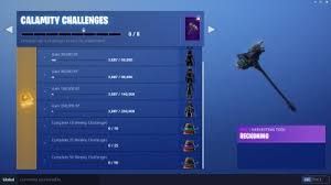 Fortnite Calamity Challenge Skin Review Leveling Guide
