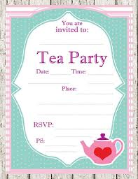 Tea Party Free Printables 12 Cool Mad Hatter Tea Party Invitations Kittybabylove Com