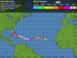 Hurricane Tracking Chart 2017 Hurricane Irma Track Where Its Been As On Sept 11 2017