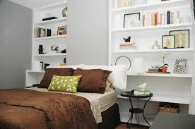 Shelves For Bedroom Walls Shelves In Bedrooms