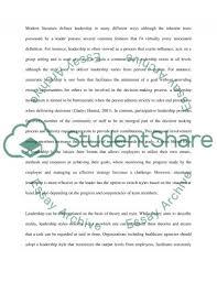 management and leadership in nursing essay example topics and  management and leadership in nursing essay example