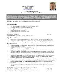 Valery Khrabrov Resume - C-Level Business Leader. VALERY KHRABROV Moscow ...