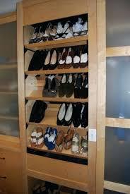 circular shoe rack plans